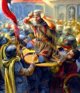 coronation of Julian