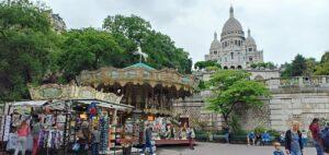 Sacre Cour, Paris, France
