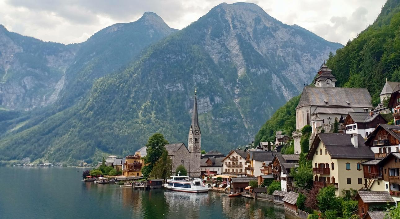 Church Lake, Hallstatt, Austria