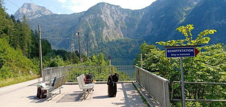 Stasiun Kereta Halstatt, Austria