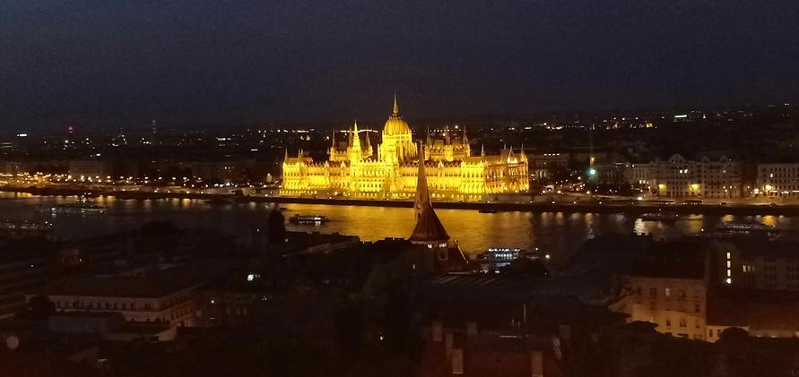 Parliament's Building, Budapest, Hungary