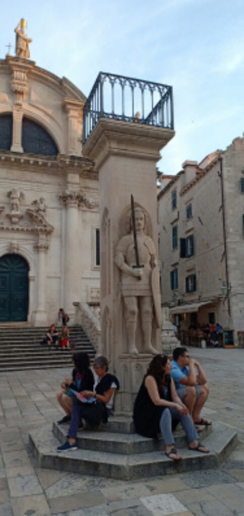 Orlando's Column, Dubrovnik, Kroasia