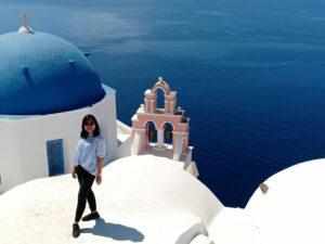 Oia, Kamari, Santorini, Yunani