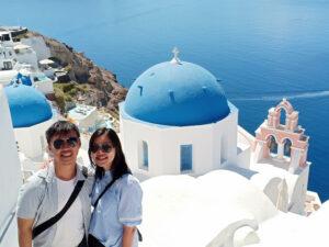 Penginapan, Santorini, Yunani