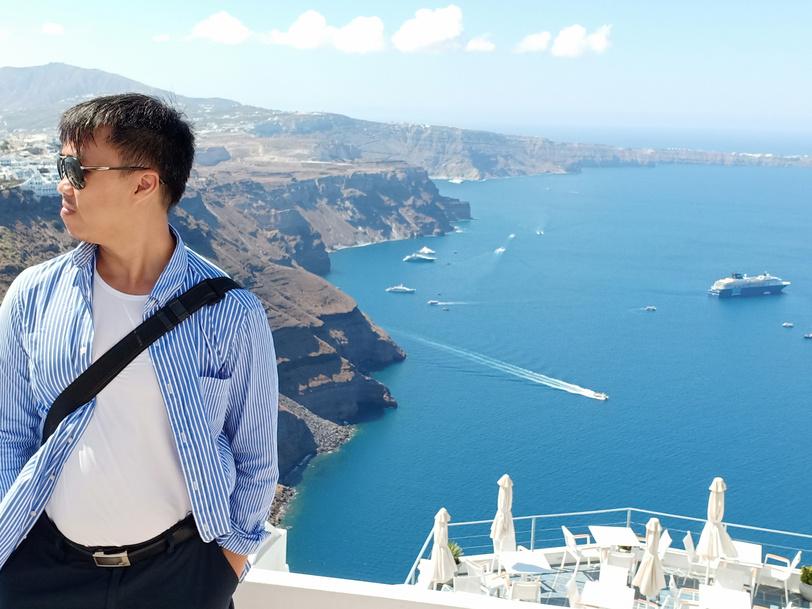 Santorini, Fira, Yunani, Planning