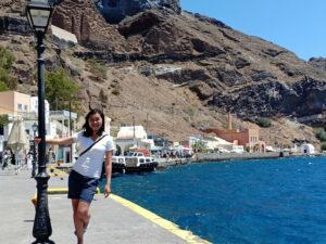 Santorini, Port, Santo Winery, Profitis Ilias, Yunani
