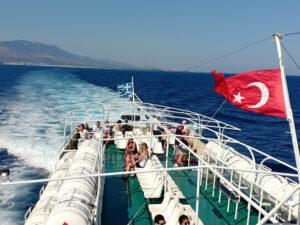 Yunani, Turki, Ferry, Bodrum, Kos