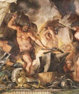 Hephaestus,Mitologi Yunani