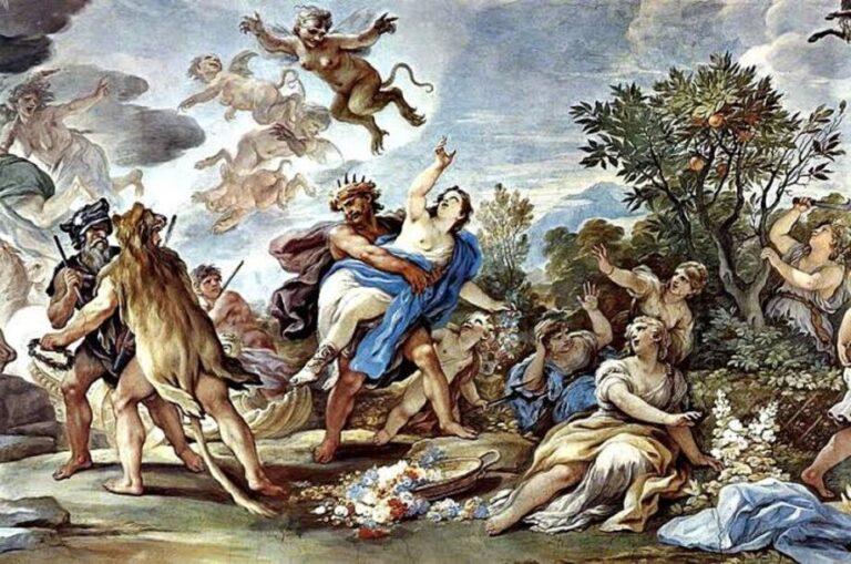 Penculikan Persephone, Hades
