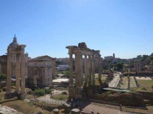 Roman Forum, Roma, Italia