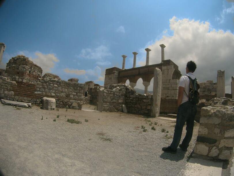Solo traveling, Selcuk, Basilica Saint John, Turkey
