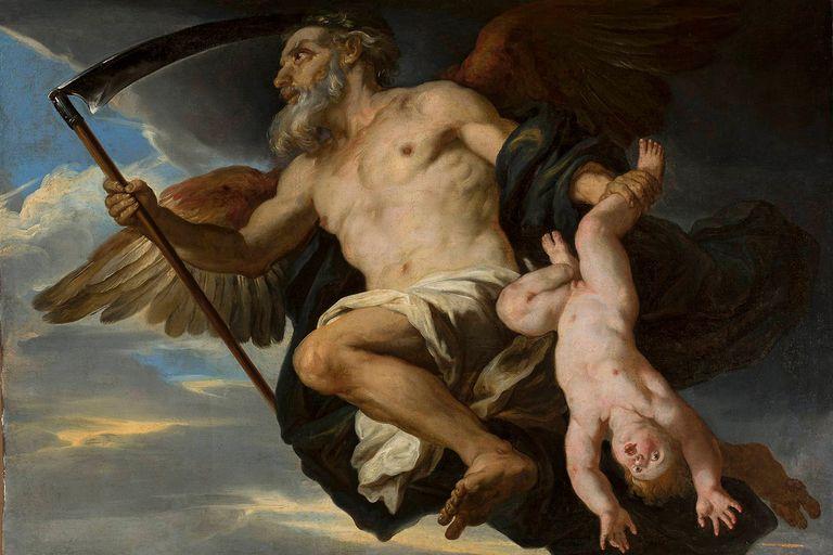 Cronus, Mitologi Yunani, Asal mula dewa