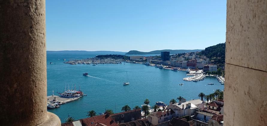 Pemandangan-Pelabuhan-Split-Kroasia