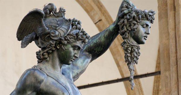 Perseus, Medusa, Mitologi Yunani