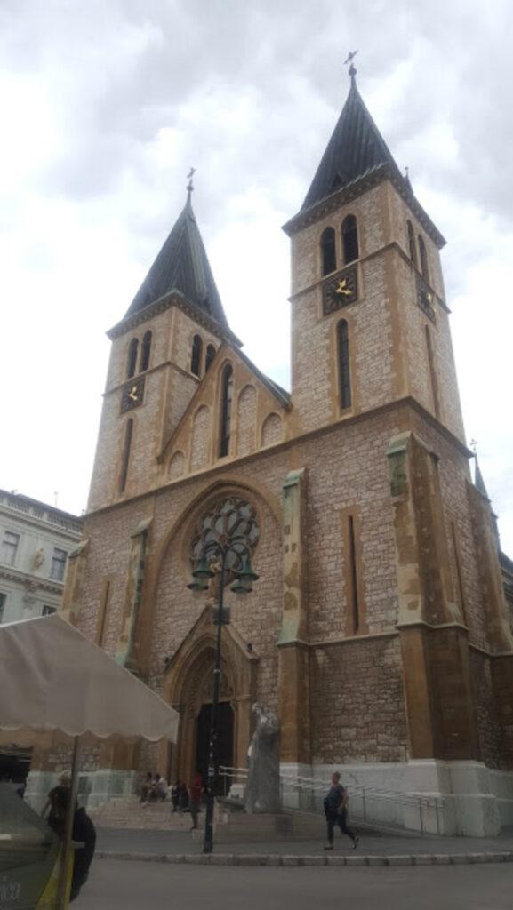gereja-katolik-Sarajevo-Bosnia